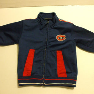 Canadiens Blue Jacket Long Sleeves 12 Months